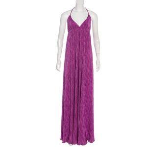 Alexis Pleated Maxi Dress